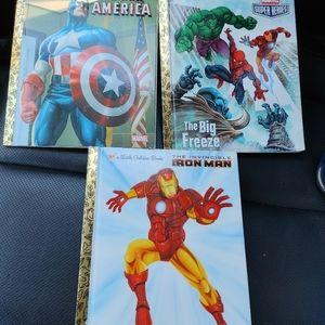 Trio of superhero stories by LGB